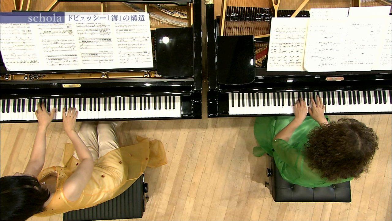 NHK「schola 坂本龍一 音楽の学校」でピアノ奏者が乳首ポロリ
