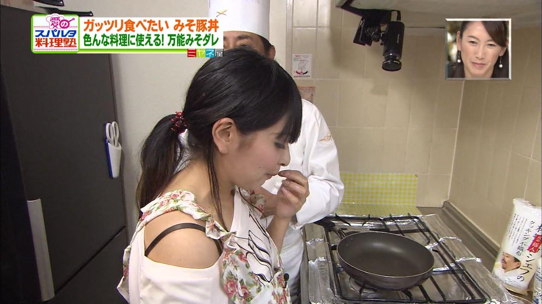 「ミヤネ屋」愛のスパルタ料理塾に出演した巨乳主婦