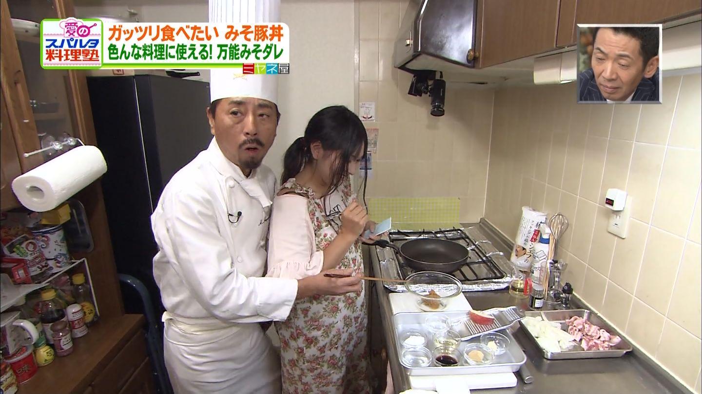 「ミヤネ屋」愛のスパルタ料理塾で巨乳主婦に密着する林裕人