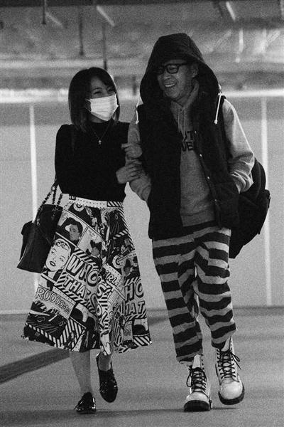 岡村隆史とAKB48の高橋みなみの親密ツーショット