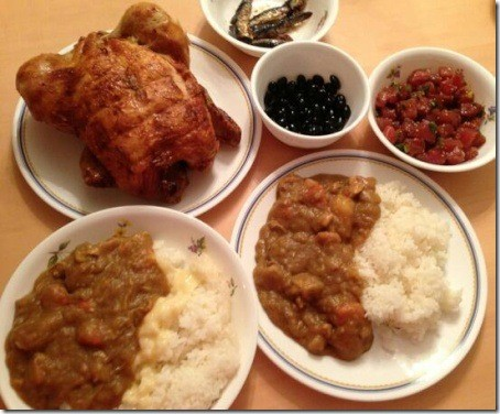 加藤茶の嫁(綾菜)が加藤茶に作ったご飯、カレーの日