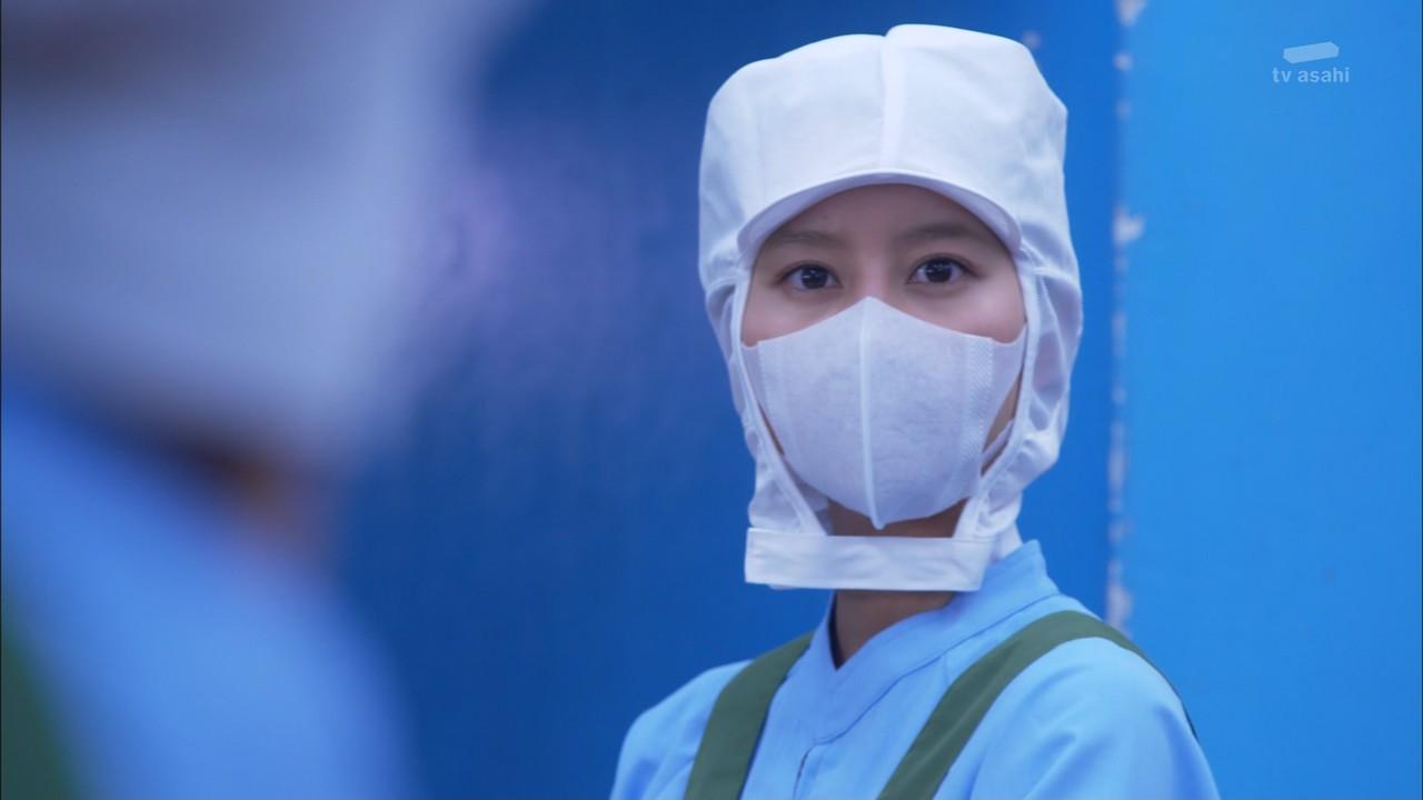 松本清張二夜連続ドラマSP「霧の旗」でマスクをした堀北真希