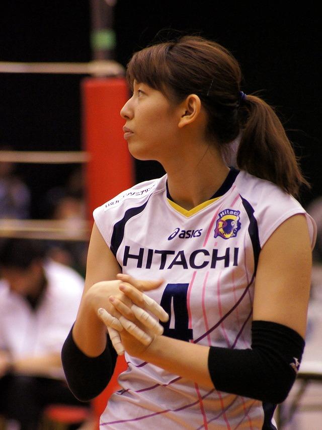 女子バレーの江畑幸子選手