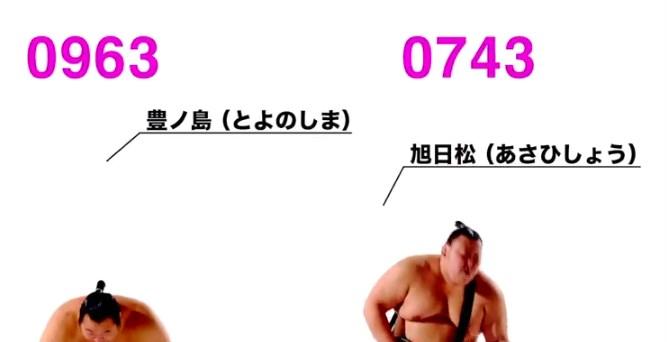 相撲ロックバンド(Rockin' Sumo Band)の豊ノ島と旭日松