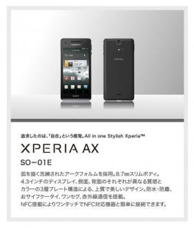 Xperia ax241004