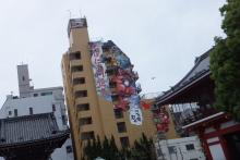 そして日々は続く-大須観音近くのビル