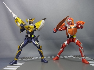 仮面ライダー鎧武 AC02 仮面ライダーバロン バナナアームズ 換装008