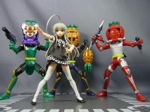 仮面ライダー鎧武 AC04 パインアームズイチゴアームズで遊ぼう018