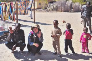 ボツワナの子どもたち