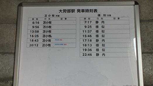 大狩部駅 (6)
