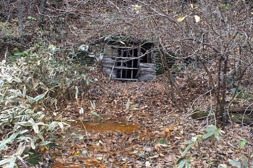 戸井鉱山跡2