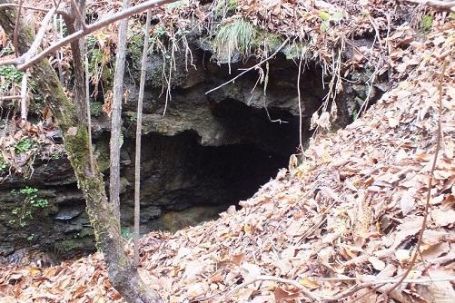 戸井鉱山 鉱口9