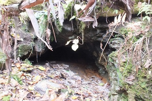 戸井鉱山鉱口12