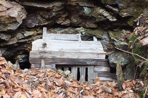 戸井鉱山鉱口7