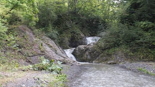 総主別川の滝 (14)●