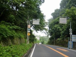 県境(岡山へ)