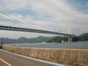 最初の橋 因島大橋