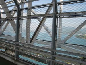 因島大橋からの景色