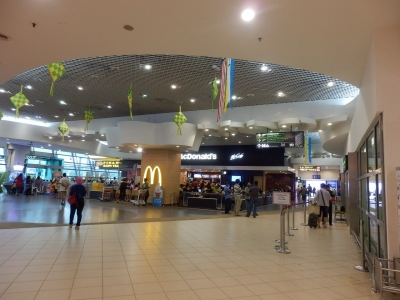 マレーシア航空「ペナン→クアラルンプール」2