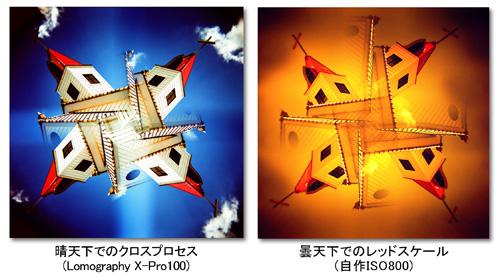 晴天クロスと曇天レスケ比較2