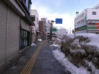 弘前駅前を土手町へ