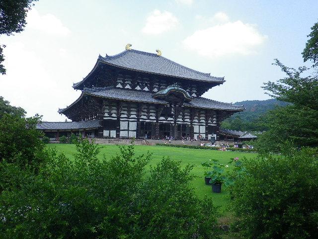 夏の東大寺