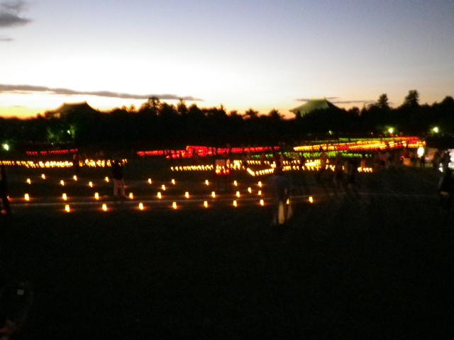 燈花会とライトアップ