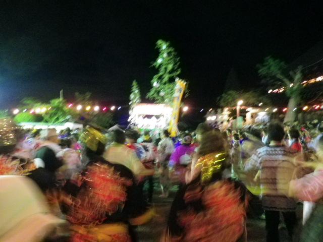 盆踊り開始