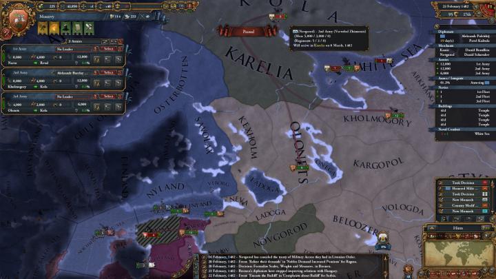 1482年、第3次ノヴゴロド遠征