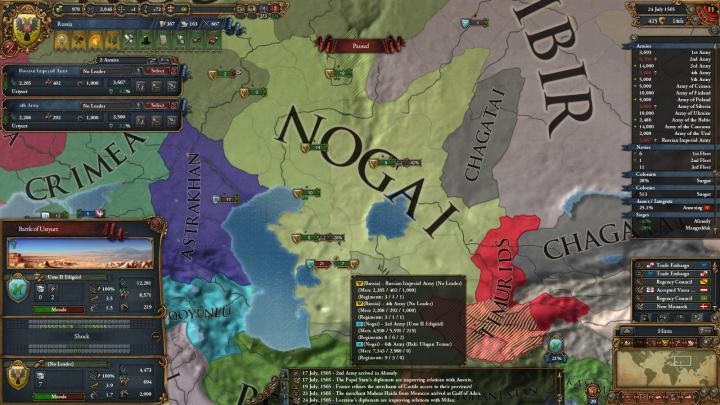 1565年、ノガイ遠征