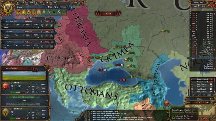 露土戦争の推移(1616年5月)