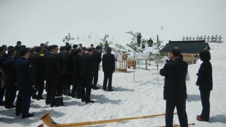4月25日駒ケ岳開山式 021