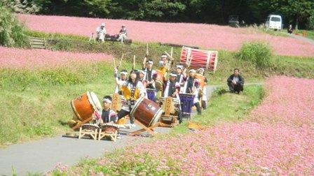 9月22日 箕輪町古田の赤そば祭 026