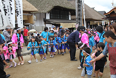 大内宿半夏祭り2012 002