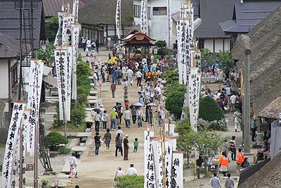 大内宿半夏祭り2012 013