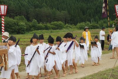 大内宿半夏祭り2012 062