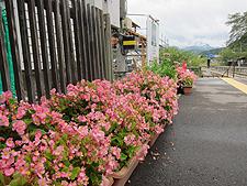 湯野上温泉駅と足湯 16