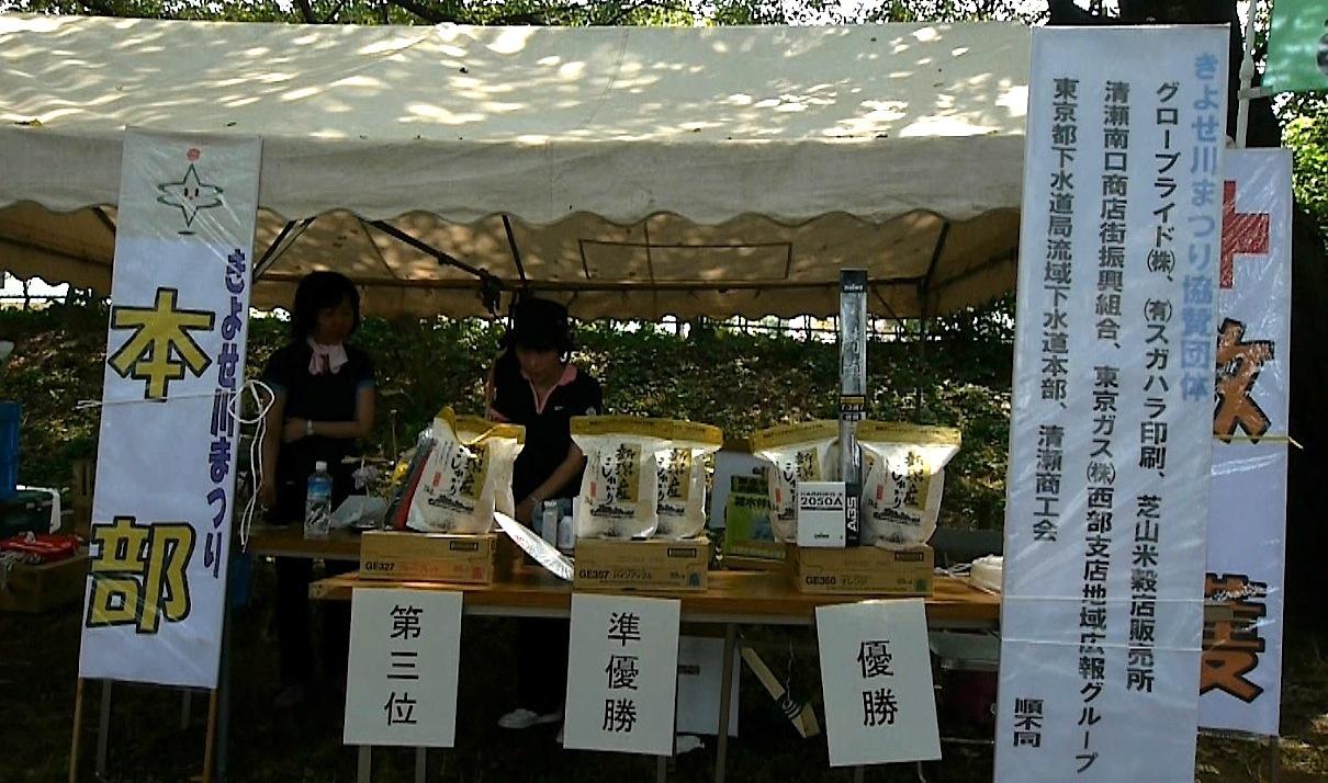 きよせ川まつり2012賞品