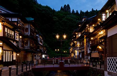 銀山温泉 夜2