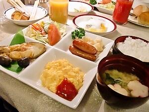 カシオペア 朝食