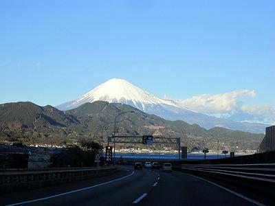 東名より富士山