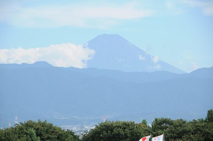 双葉PAから見た富士山