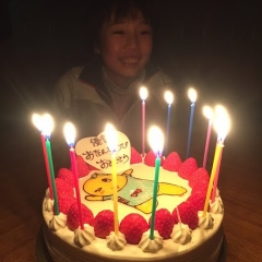 20141207you誕生日ケーキ