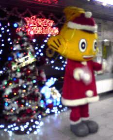 クリスマスバージョンの「ハッチー」