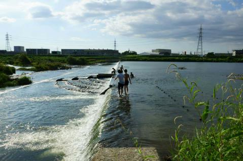 八ヶ村用水取水口20120826-9