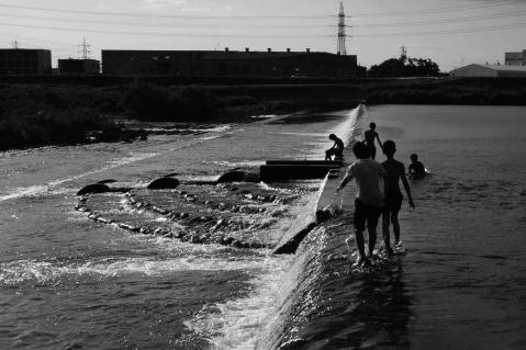 川遊び20120826-1