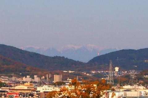 山20121121ジャスコ屋上