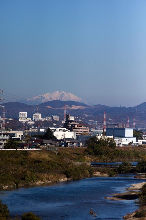 庄内川大橋から20121125-2
