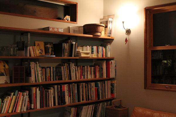 池田デザイン室住宅設計家族の本棚