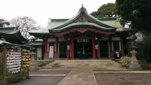 品川神社拝殿